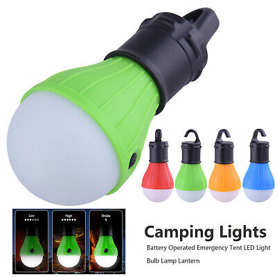 £8.89 • Buy 5X Camping Tent Lights Battery Operated Emergency LED Night Lamp Bulb Lantern