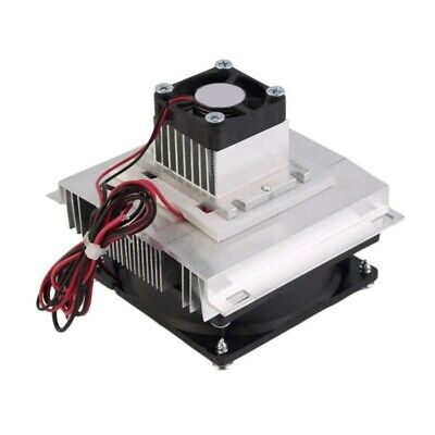 £18.48 • Buy Thermoelectric Peltier Refrigeration Cooling System Kit Cooler Double Fan