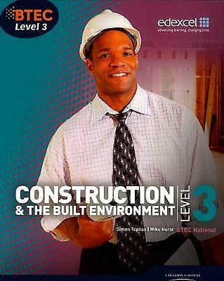 £36.05 • Buy BTEC Level 3 National Construction And The Built Environment Student Book Level
