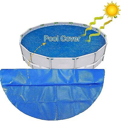 £20.99 • Buy Swimming Pool Cover UV Protection Bubble Heat Insulation Film Pool Cover