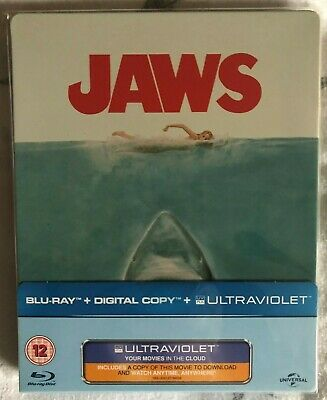 £29 • Buy Jaws - Limited Edition 2012 Blu Ray Steelbook (Zavvi Exclusive)