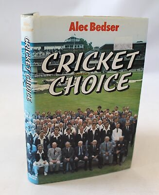 £4.99 • Buy VINTAGE Cricket Choice SIGNED BY Alex Bedser England Surrey  - A36