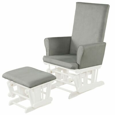 £248.95 • Buy Glider Reclining Rocking Chair Nursery With Footstool