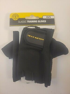 £7.18 • Buy GOLDS GYM Classic Training Gloves Workout Exercise Fitness Weight XS / S Small
