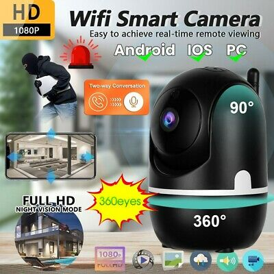 £19.99 • Buy 1080P WiFi IP Camera Home Security Baby Monitor Clever Pet CCTV Cam Night Vision