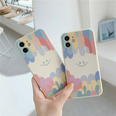 AU10.99 • Buy Shockproof Silicone Cute Case Smile Cover For IPhone 11 12 Pro Max XS 7 8Plus XR