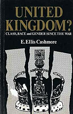 £2.19 • Buy United Kingdom?: Class, Race And Gender Since The War, Cashmore, Ernest, Used; G
