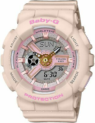 $259.87 • Buy Casio G-Shock Baby-G X Pokemon Pikachu Collaboration Pink From Japan New