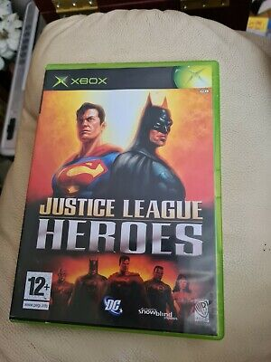 $ CDN43.08 • Buy Justice League Heroes XBOX Video Game Original UK Release Complete With Manual