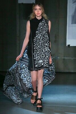 $85 • Buy Maison Martin Margiela..MM6..Italy.. Printed Wrap Dress Or Top!