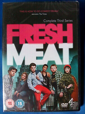 £6.97 • Buy FRESH MEAT: COMPLETE THIRD SERIES 3 DVD * NEW * SEALED * FREE 1st CLASS P&P *