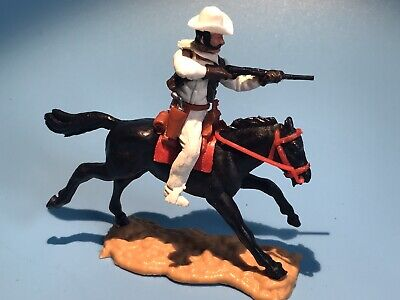 £35 • Buy Timpo Toys Original Us Western Mounted Cowboy Figure & Horse Rare Late Issue
