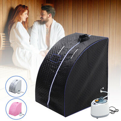 £79.95 • Buy Portable Sauna Tent Spa Room Home Steam Kit Slimming Loss Weight Full Body Detox