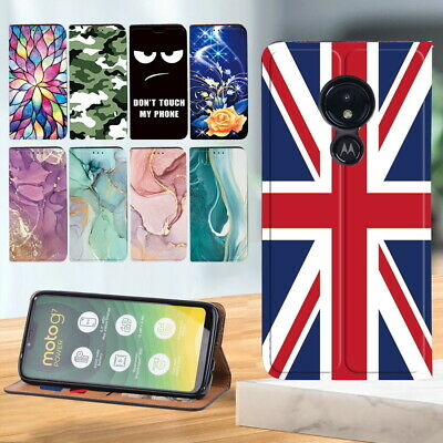 £4.99 • Buy For Motorola E6 /G7 Play/ G8 /G8 Power Lite Phone Case Leather Wallet Book Cover