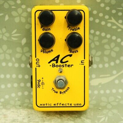 £83 • Buy Xotic AC Booster Guitar Effect Pedal