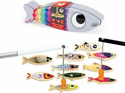 £12.99 • Buy Janod FISHING GAME Magnetic Wooden Kids/Children's Activity Toy BN
