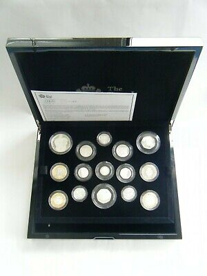 £425 • Buy 2013 Silver Proof 15 Coin Set Royal Mint UK