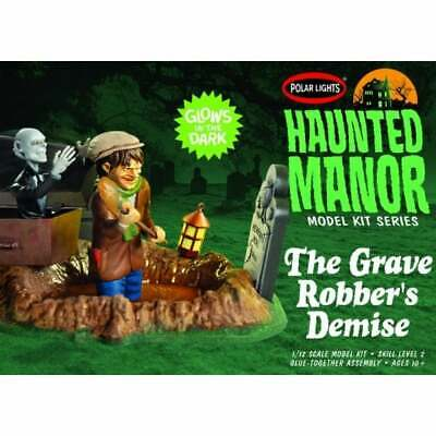 £38.95 • Buy Polar Lights 1:12 Haunted Manor: The Grave Robber's Demise Diorama Kit - POL976