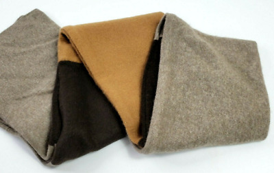 £21.99 • Buy # 100% Pure Cashmere Scarf Neck Warmer Extra Long Double Handmade Gift 882