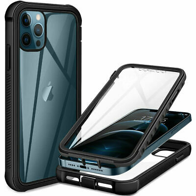 AU9.85 • Buy Full Body Shockproof 360 Case For IPhone 12 11 Pro Max SE 7 8 Plus X XS MAX