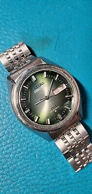 $ CDN150.47 • Buy Vintage 1973's Seiko 5 Actus 6106-7510 Day-Date Automatic Watch Japan Version