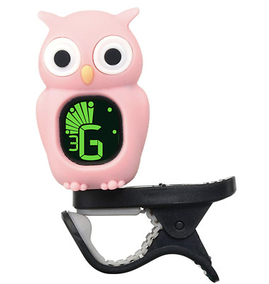 $ CDN33.99 • Buy Guitar Tuner Clip-On With LCD Display (owl-pink)