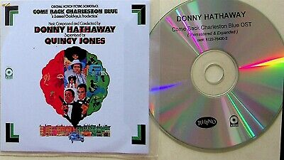 £12.99 • Buy Donny Hathaway – Come Back Charleston Blue Soundtrack EXPANDED PROMO CD Rare