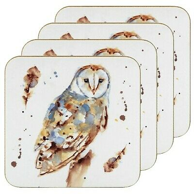 £3.95 • Buy Set 4 Country Life Owl Coasters LP47431