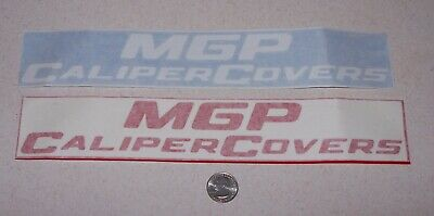 £1.08 • Buy 2 - Different Large Original - MGP Caliper Covers  - Decals/stickers