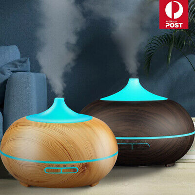 AU16.99 • Buy 550ML Diffuser Aroma Aromatherapy LED Oil Ultrasonic Air Humidifier Purifier