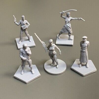 AU13.79 • Buy Lot 5x Soldier Miniatures Dungeons & Dragons Role-Playing Board Game Figure Toy