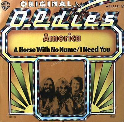 £3.59 • Buy America - A Horse With No Name / I Need You 7in 1973 (VG/VG) .