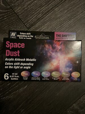 £14 • Buy VAL77091 - AV Vallejo Eccentric Colors - The Shifters - Space Dust (6)