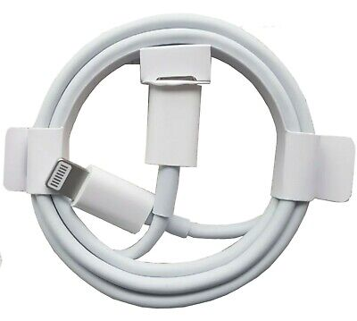 £4.90 • Buy Genuine Apple USB-C Fast PD Charger Cable Lead For IPhone SE2020,12 Pro,Max,Mini