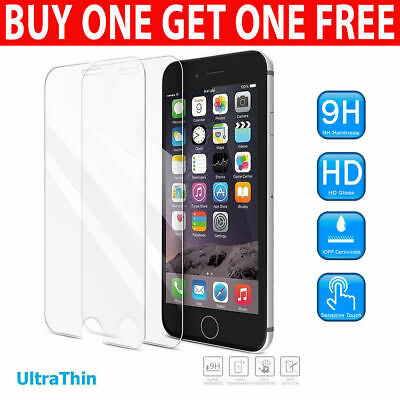 £1.95 • Buy For IPhone SE 2 2020 7 5 5s 6 6s 8 Plus Gorilla Tempered Glass Screen Protector