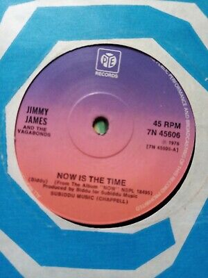 """£2.68 • Buy Jimmy James - Now Is The Time 7"""" Vinyl"""