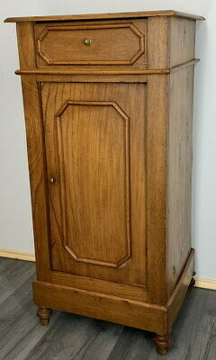 £129 • Buy Rare Carved French Antique Bedside Table Cupboard Cabinet
