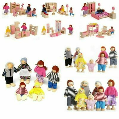 £7.19 • Buy Cute Wooden Furniture Dolls House Miniature Room Set Doll Kids Children Toy Gift