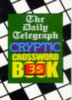 £4.96 • Buy Daily Telegraph Cryptic Crossword Book 35: No.35,Telegraph Group Limited