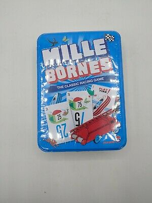 $19.95 • Buy Mille Bornes Card Game Classic French Auto Car Racing Mile Bourne Touring Tin