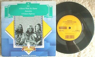 £8.99 • Buy America - Horse With No Name / Ventura Highway -  Old Gold OG 9525 - Pic Sleeve