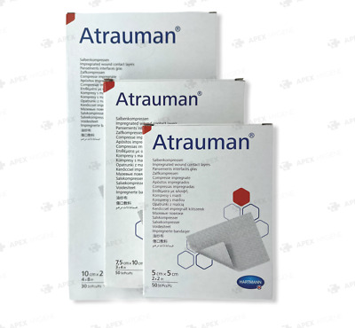 £3.39 • Buy ATRAUMAN Sterile Non Adherent Impregnated Wound Dressing - Choose Size & Qty