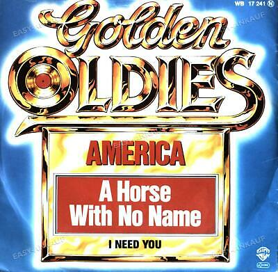 £4.49 • Buy America - A Horse With No Name / I Need You 7in 1973 (VG+/VG+) '