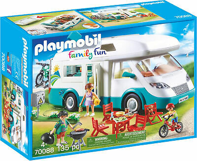 £46.73 • Buy 70088 Playmobil Family Fun Family Camper Van With Figures Inc 135pc Age 4yrs+