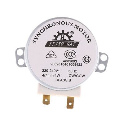 £3.53 • Buy AC 220V-240V 50Hz CW/CCW Microwave Turntable Turn Table Synchronous Motor LoQC3A