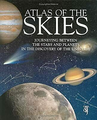 £2.96 • Buy Atlas Of The Skies: Journeying Between The Stars And Planets In The Discovery Of