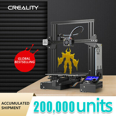 £141 • Buy Creality 3D Ender-3 3D Printer With Resume Print And Upgraded