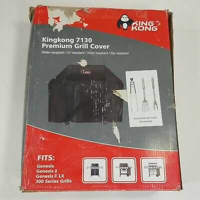 $ CDN56.62 • Buy Kingkong 7130 Grill Cover For Weber Genesis II Series And 300 Series