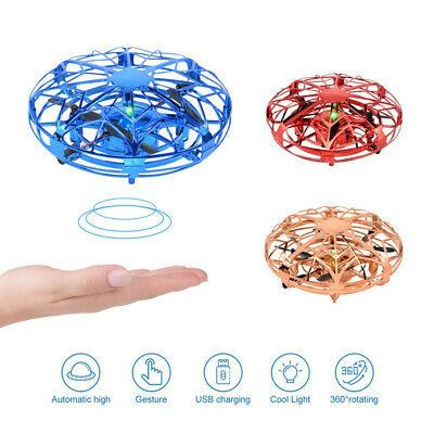 AU15.29 • Buy 360° Mini Drone UFO Aircraft Smart Hand Controlled For Kids Flying Toy Xmas Gift