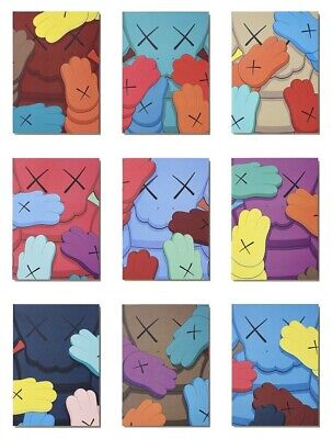 £79 • Buy Kaws What Party Urge Box Of 10 Mini Prints/Post Cards, Sold Out Not Stik, Banksy
